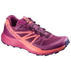 SALOMON SENSE RIDE W Sangria/Pink