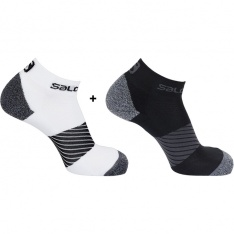 SALOMON SPEED 2 PACK Black/White