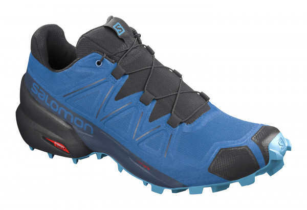 SALOMON SPEEDCROSS 5 Indigo Bunting/Black/Ethereal Blue NEW