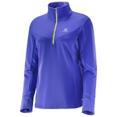 SALOMON TRAIL RUNNER WARM MID W Phiox Violet