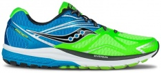 SAUCONY RIDE 9 Green/Blue/Black