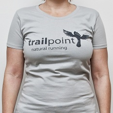 TRIČKO TRAILPOINT - Light Grey / Girls