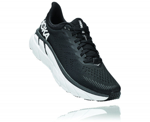 HOKA CLIFTON 7 Black/White