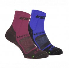 INOV-8 RACE ELITE PRO SOCK pink/black + blue/black