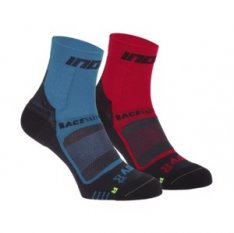 INOV-8 RACE ELITE PRO SOCK red/black + blue/black